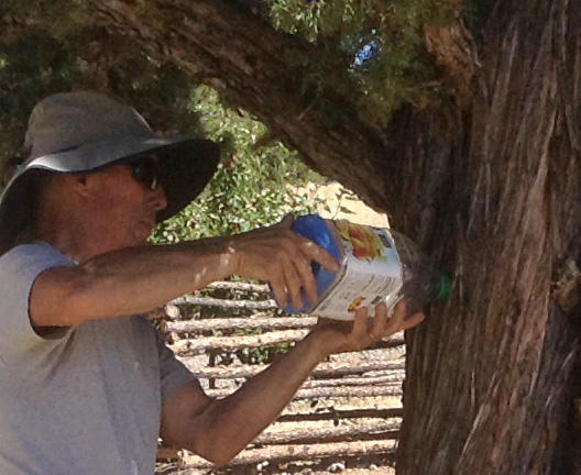 Installing feeder