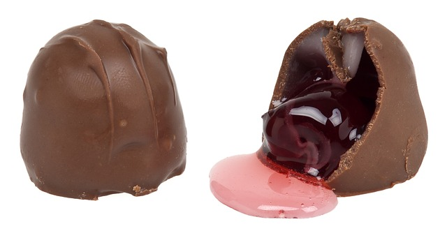 Chocolate-covered-cherries-are made with invertase.