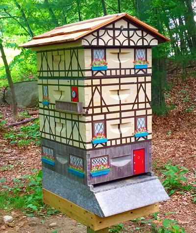 Making A Hive Into A Home Honey Bee Suite